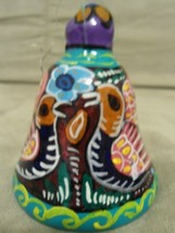 Vintage Handpainted Colorful Decorative Bell 3 ... - $6.53
