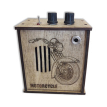 Custom wooden box Guitar Amplifiers Cigar box Guitar Amp Distortion effect  - $34.55