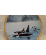 Orcas - Mammals, Fish, Whales, Sea, Collector Plates, Hamilton Collection - $22.50
