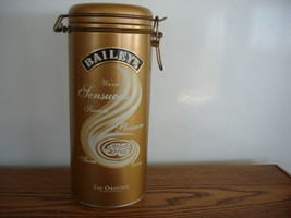 Beautiful Baileys Liquor Tin w/Clips - $7.99