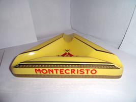 Montecristo Ceramic Cigar Ashtray  & Montecristo Wooden Cigar Matches - $129.20