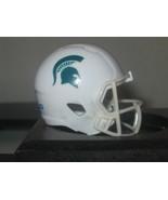 NCAA Michigan State Custom Pocket Pro Helmet White Spartans  Logo  - $12.82
