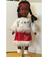 Indian Doll Plastic Hinged w/ Stand - $9.49