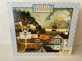 Charles Wysocki 1000 Pieces Jigsaw Puzzle Game Wharf Rats Club Free Ship... - $65.84