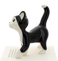 Hagen-Renaker Miniature Ceramic Cat Figurine Black and White Tuxedo Cat Papa image 2