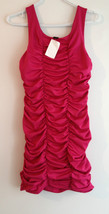 H&M Fuchsia Ruffle SHORT SEXY Party  DRESS Size... - $29.97