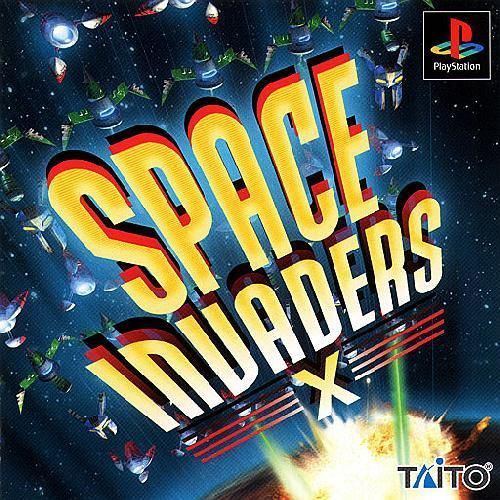 Space Invaders X, Sony Playstation One PS1, Import Japan Game