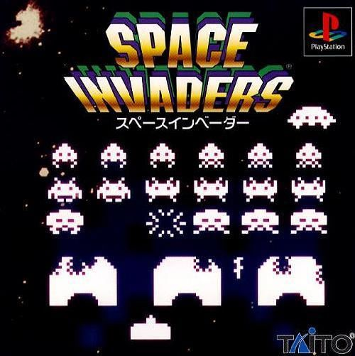 Space Invaders , Sony Playstation One PS1, Import Japan Game