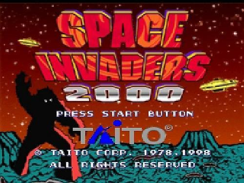 Space Invaders 2000, Sony Playstation One PS1, Import Japan Game