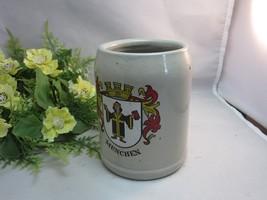 Vtg Willi Geck pottery beer stein. Munchen city. Germany - $24.99