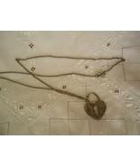 Hart Lock Necklace Chain Pendant - $10.50