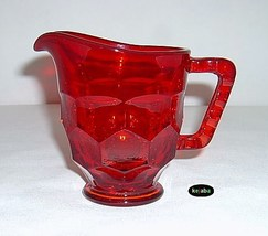 Viking Georgian Ruby Creamer - $12.50