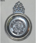 "United States House of Representatives 8""x6"" Pewter Plate Dish - $12.99"