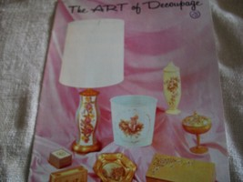 The Art of Decoupage Book - $7.00