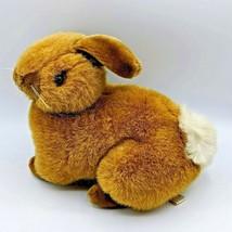 "Vintage 1989 Fiesta Natural Bunny Easter Rabbit Stuffed Plush Toy Animal 11.5"" - $19.99"