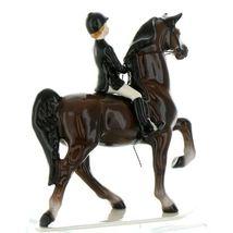 Hagen Renaker Specialty Horse Dressage with Rider Ceramic Figurine image 11