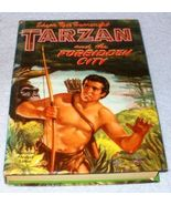 Vintage Whitman Book Tarzan and the Forbidden City 1954 - $7.95
