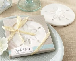 """64""""by The Shore"""" Beach Sand Dollar Coasters - $160.05"""