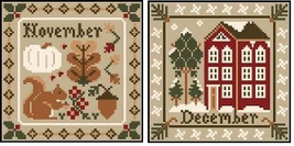 November-December Sampler Months Thread Pack Little House - Classic Colorworks  - $17.10