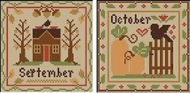 September-October Sampler Months Thread Pack Little House - Classic Colorworks  - $17.10