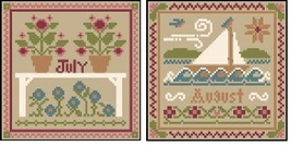 July-August Sampler Months Thread Pack Little H... - $17.10