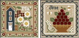 May-June Sampler Months Thread Pack Little House - Classic Colorworks  - $17.10
