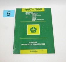 1997 1998 Chrysler Dodge Plym Teves Mark 20 Antilock Brake Diagnostic Manual 5 - $14.80