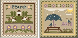 March-April Sampler Months Thread Pack Little House - Classic Colorworks  - $17.10