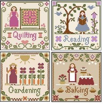 FULL BUNDLE Little Women ( 4 total) Thread Packs Little House-Classic Co... - $47.60