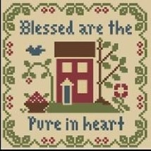 Blessed Are Pure In Heart Saltbox Scripture Thread  Pack LHN-Classic Col... - $12.60
