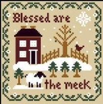 Blessed Are The Meek Saltbox Scripture Thread  Pack LHN - Classic Colorw... - $12.60