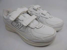 New Balance 577 Women's Walking Shoes Sz US 7 D WIDE EU 37.5 White WW577VW
