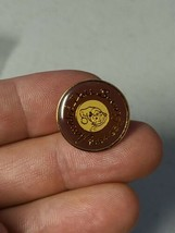"Vintage 1994-1995 AnnaLee Doll Society 3/4"" Enamel Pin Brown/Gold EUC - $15.00"