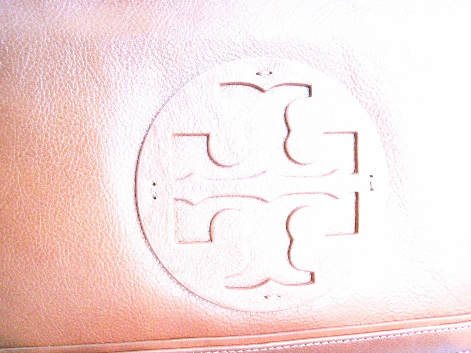 Tory Burch SUKI REVA Clutch Purse Shoulder Handbag Brown image 2