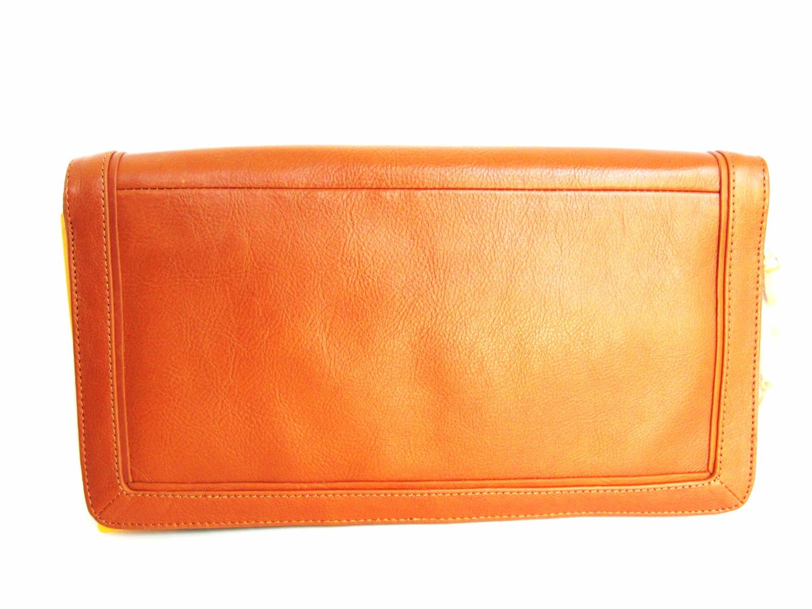 Tory Burch SUKI REVA Clutch Purse Shoulder Handbag Brown image 3