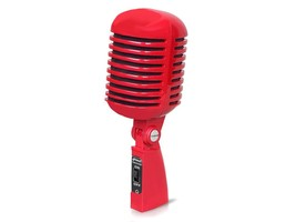 PylePro - PDMICR42R - Classic Retro Vintage Style Dynamic Vocal Micropho... - $34.60