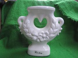 Sweden pottery candlestick design Rosa Ljung candle holder - $27.69