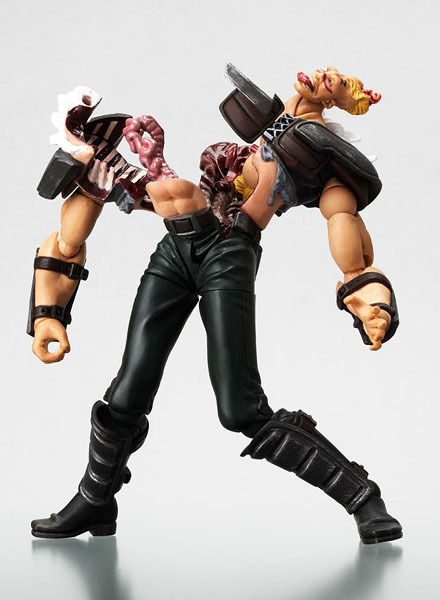 Revoltech Revolution: Fist of The Star Series No. 02 Zeed Team Action Figure NEW