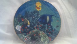 Hamilton Collection The Living Oasis, Coral Paradise, Fish, Aquarium, Se... - $22.50