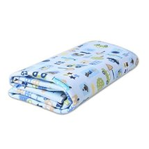 Blue Car Waterproof Bed Cover Infant Crib Sheet Newborn Keep Me Dry Pad 7080 cm