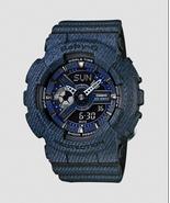 New Casio BA-110DC-2A1 Dark Blue Black Ladies Women Baby G Watch/ - $66.17
