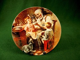 "Rockwell 1977 Collector Plate ""THE TOY MAKER"" Certificate Knowles Box PL... - $12.69"