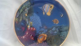 Plate Riches of the Coral Sea - Coral Paradise, Fish, Ocean,Hamilton Col... - $22.50