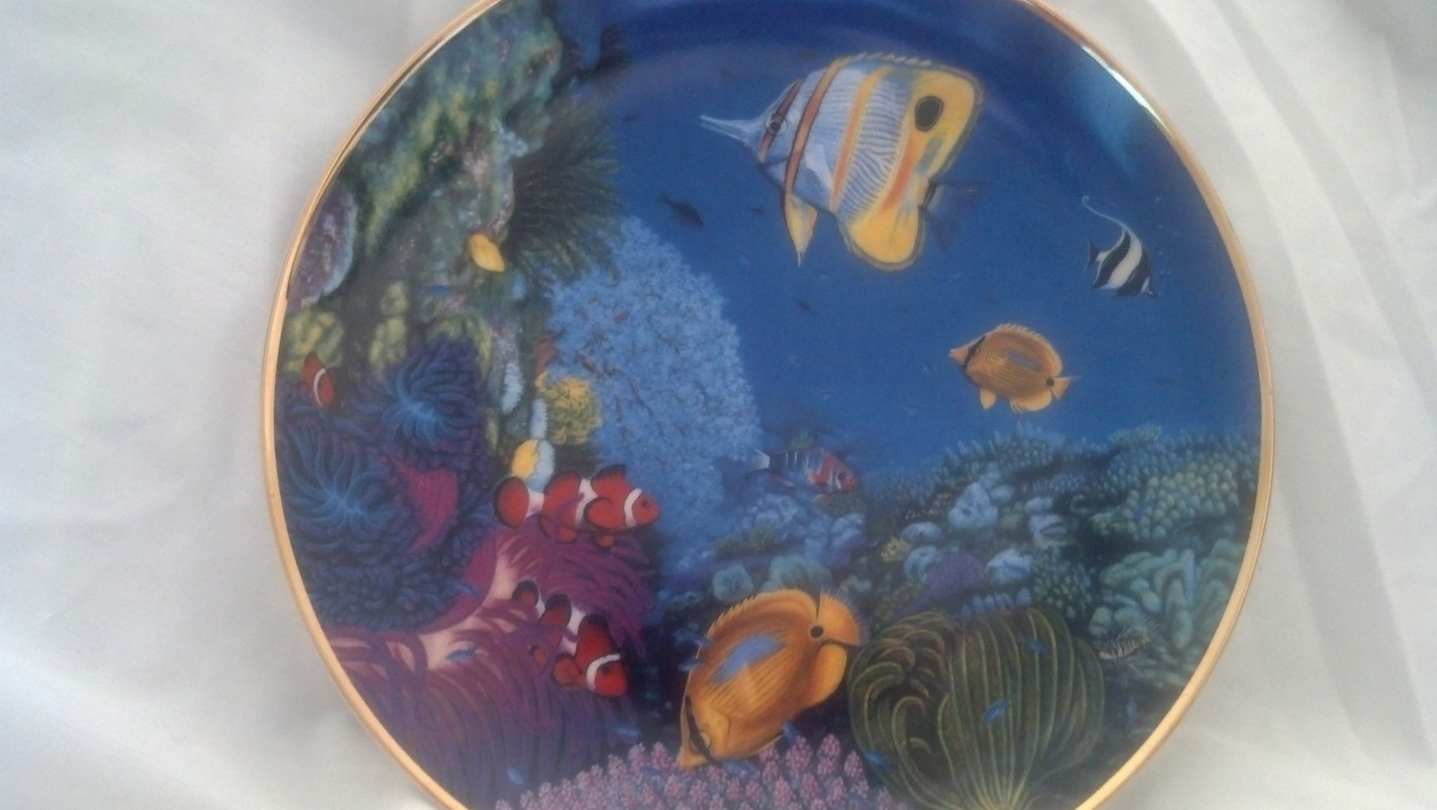 Plate Riches of the Coral Sea - Coral Paradise, Fish, Ocean,Hamilton Collection
