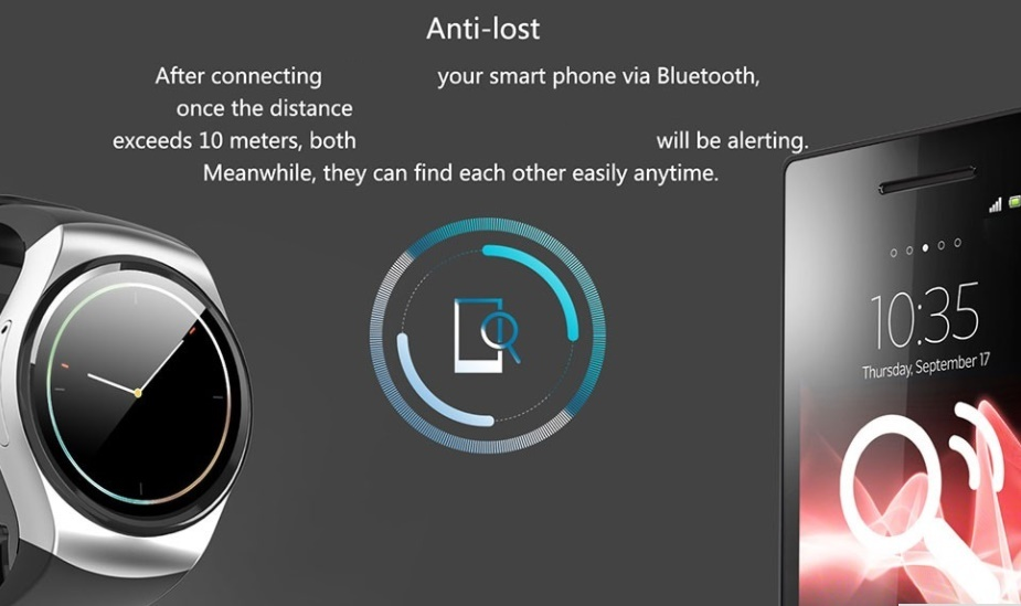 Bluetooth Smart Watch Waterproof W/Heart Rate-Step Pedometer Health Fit Tracker