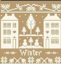 Winter Monochromatic Silk Thread Pack cross stitch LHN - Classic Colorwork - $12.60