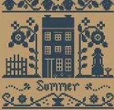 Summer  Monochromatic Silk Thread Pack cross stitch LHN - Classic Colorwork - $12.60