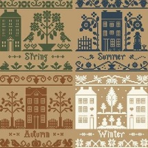 FULL BUNDLE Monochromtic Silk Seasons (4) Thread Packs LHN -  Classic Colorworks - $47.60