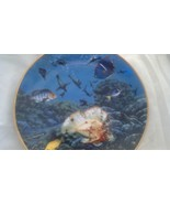 Hamilton Plate Mysteries of the Galapagos,Coral Paradise,Fish,Aquarium,S... - $22.50
