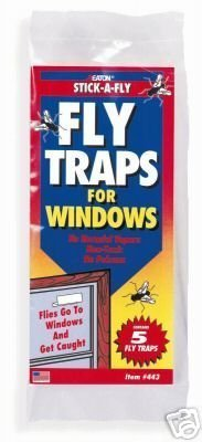JT EATON - Fly Traps for Windows (5 pack)